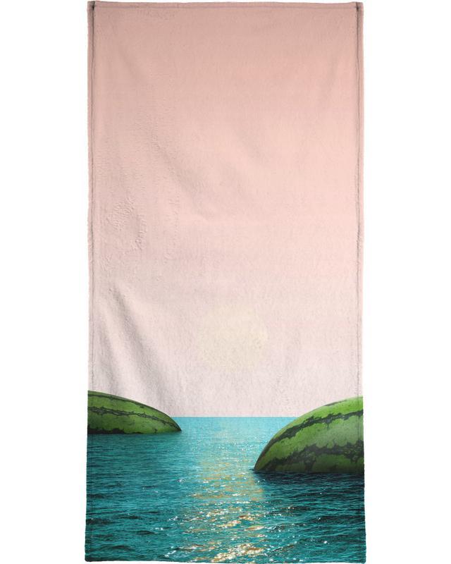 Pastèques, Melon Shore serviette de bain