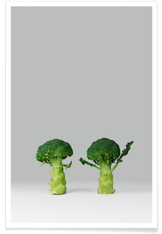 Humour, Arguing Broccolis affiche