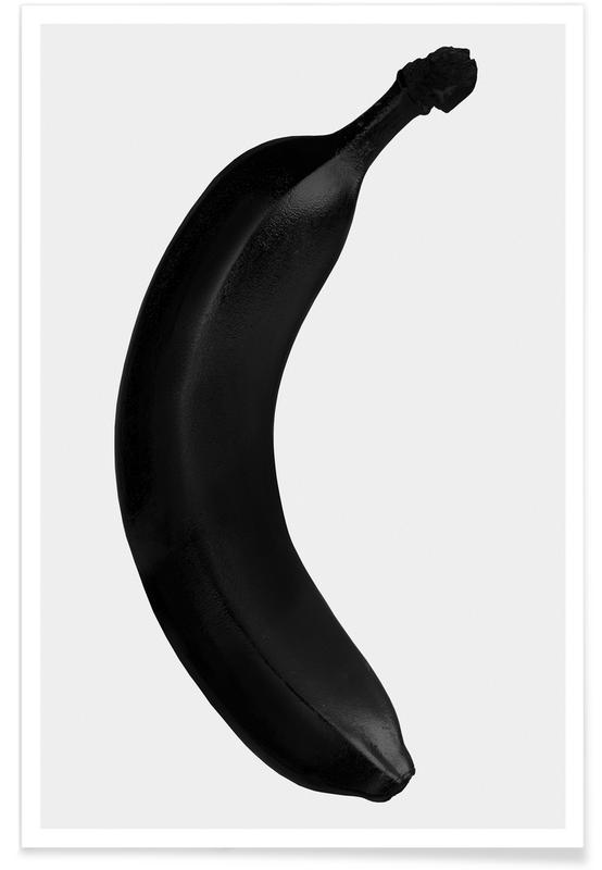 Big Banana Pop Poster