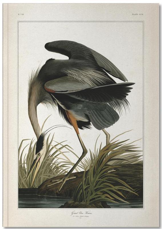 Great Blue Heron - Audubon Notebook