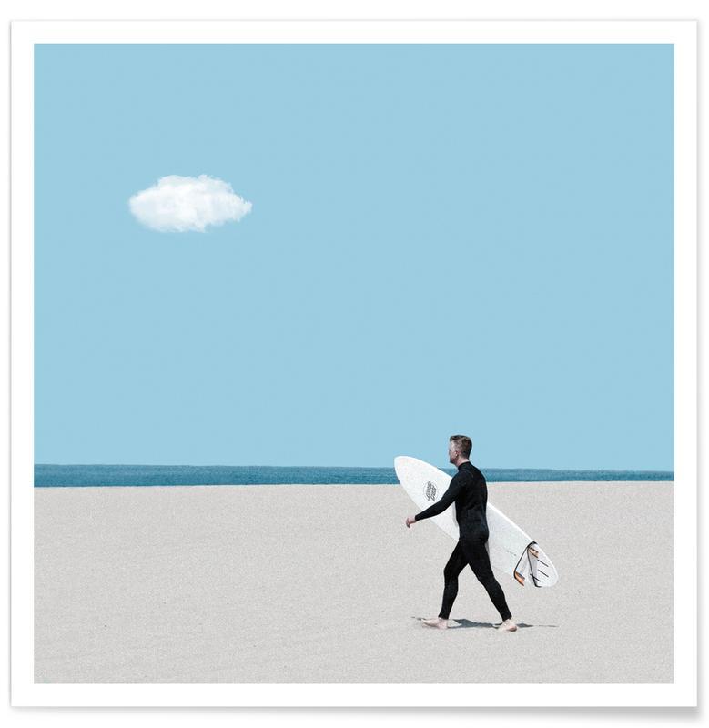 Plages, Surf, Beach Time affiche
