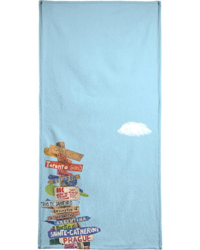 Directions Beach Towel