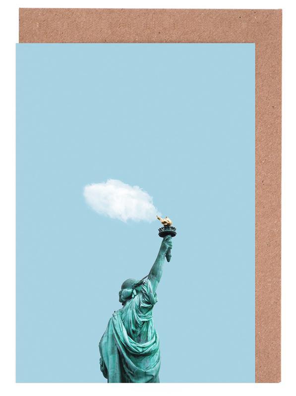 Cloud of Liberty -Grußkarten-Set