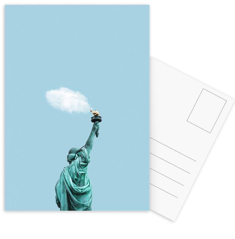 New York, Cloud of Liberty ansichtkaartenset