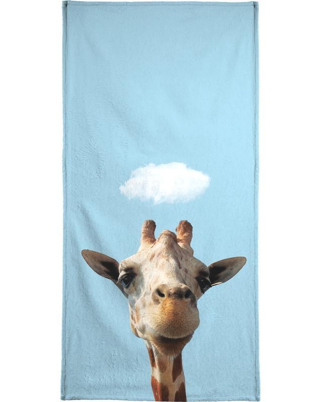 Lustig, Giraffen, Hello -Handtuch