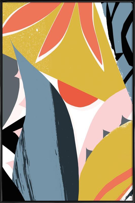 Agave -Bild mit Kunststoffrahmen