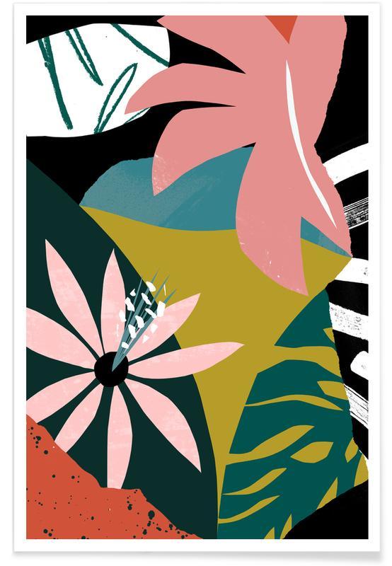 Hojas y plantas, Nectar póster