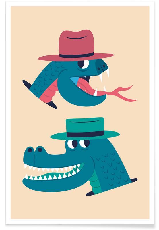Reptiles affiche