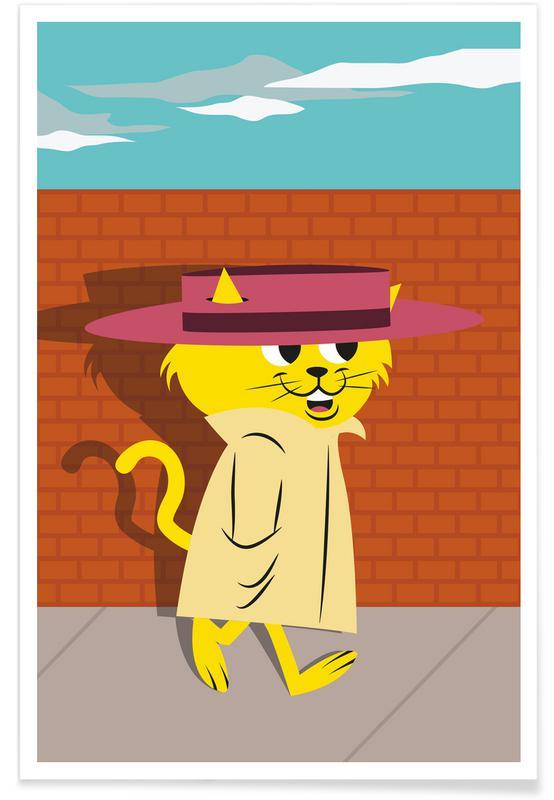 Kunst voor kinderen, Tv-series, Topcat poster