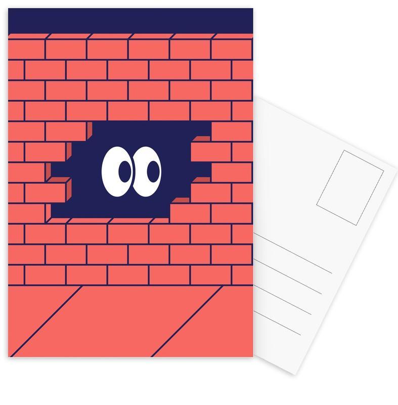 Hole -Postkartenset