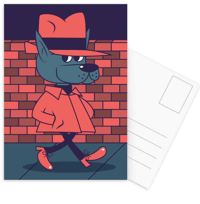 Dawg -Postkartenset