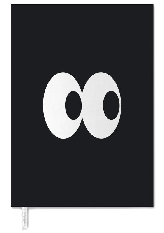 Nursery & Art for Kids, Black Eyes Personal Planner