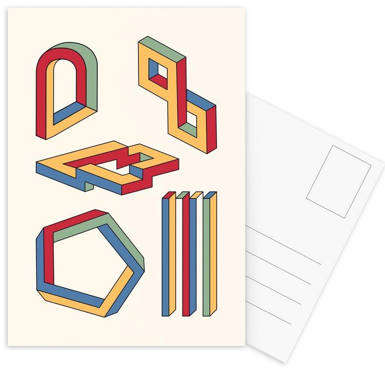 Volumes 2 -Postkartenset