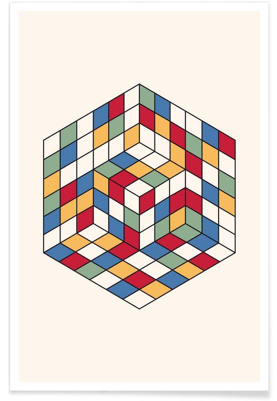 , Cubique Poster