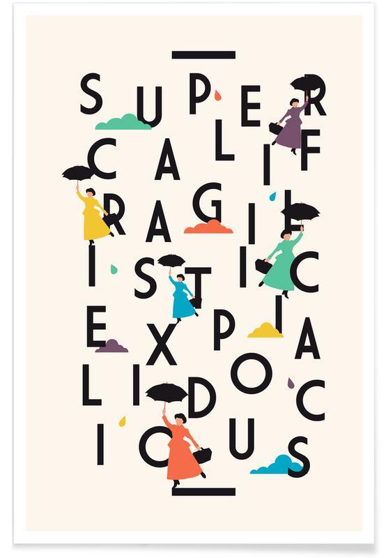 Films, Supercali affiche