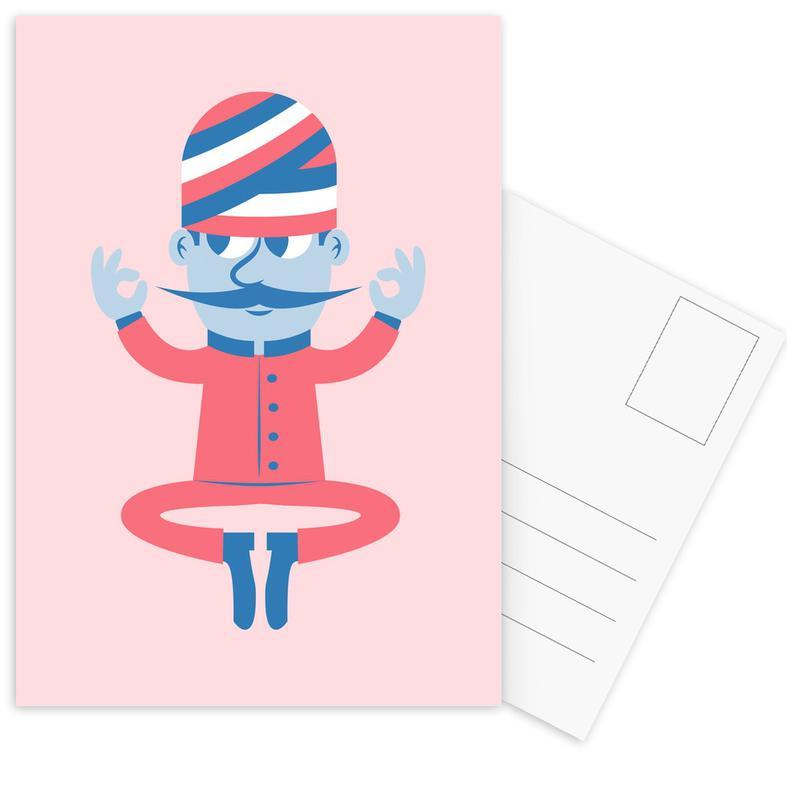 El Fakir -Postkartenset