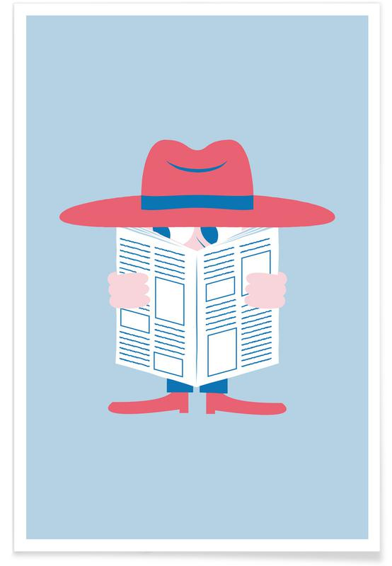 Nursery & Art for Kids, Incognito Poster