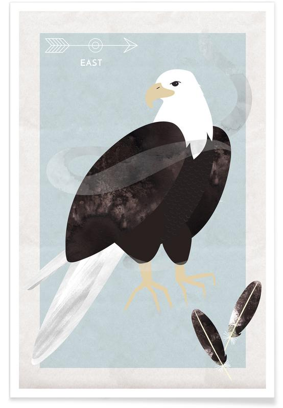 Spirit Animal - Eagle Poster