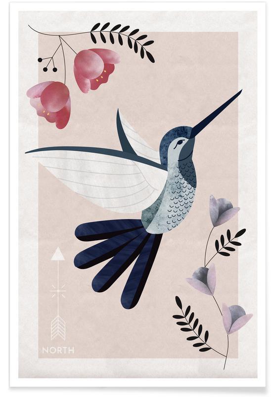 Spirit Animal - Hummingbird Poster