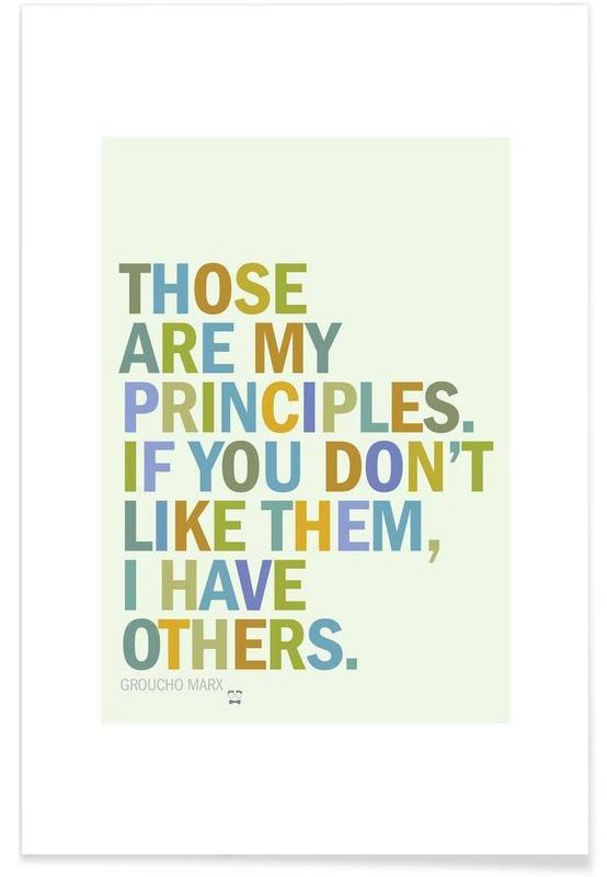 Groucho Principles affiche