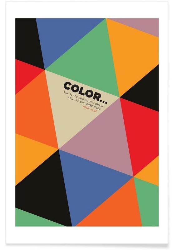 , Harlequin Klee affiche