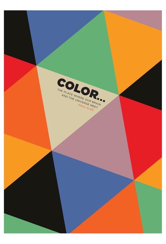 Harlequin Klee -Acrylglasbild