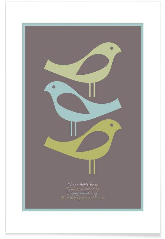 Three little birds Poster
