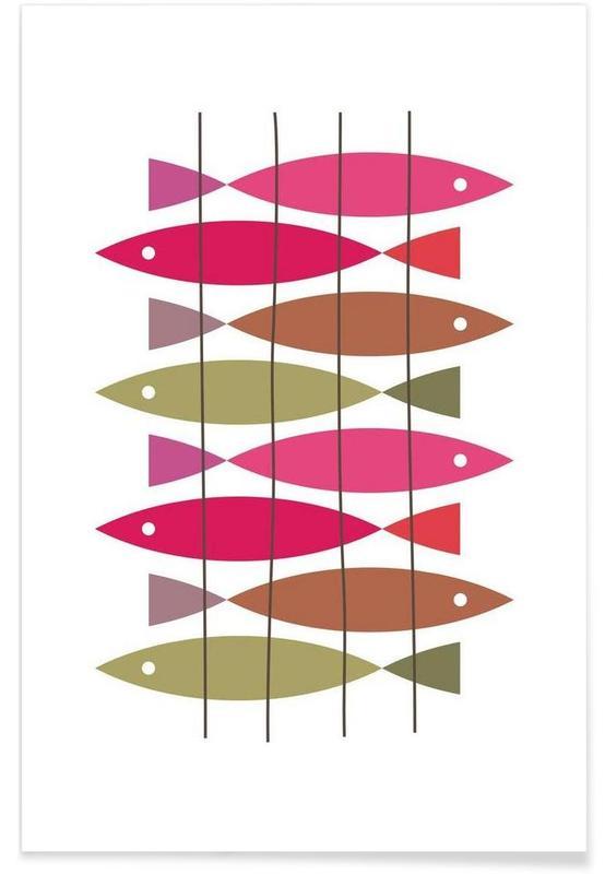 Fische, Fish 1 -Poster