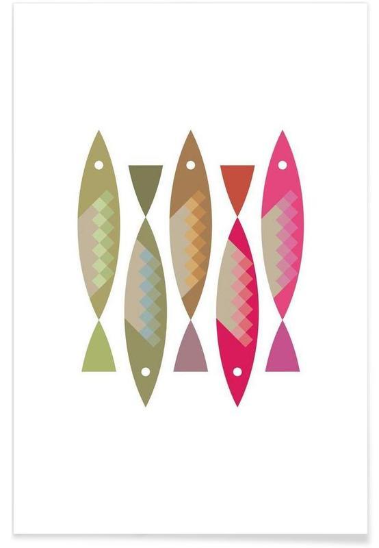 Fische, Fish 2 -Poster