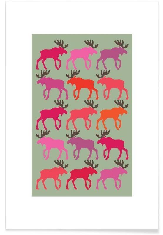 , Moose 3 -Poster