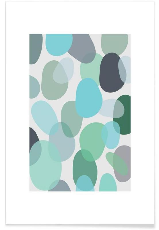 , Sea Glass -Poster