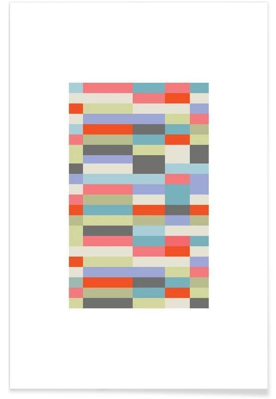 , Bauhaus 3 -Poster