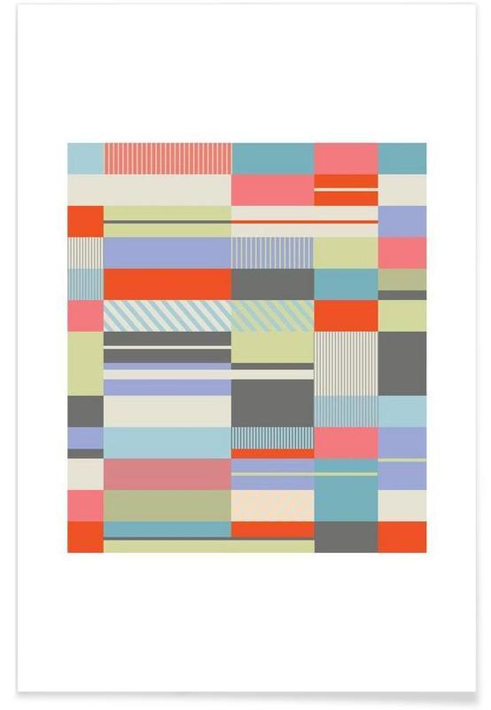 , Bauhaus 4 -Poster