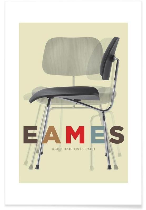 Eames DCM affiche