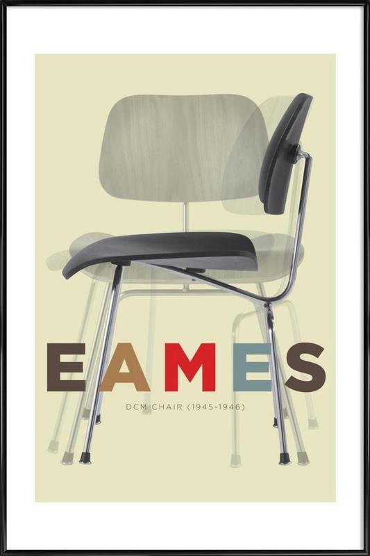 Eames DCM Framed Poster
