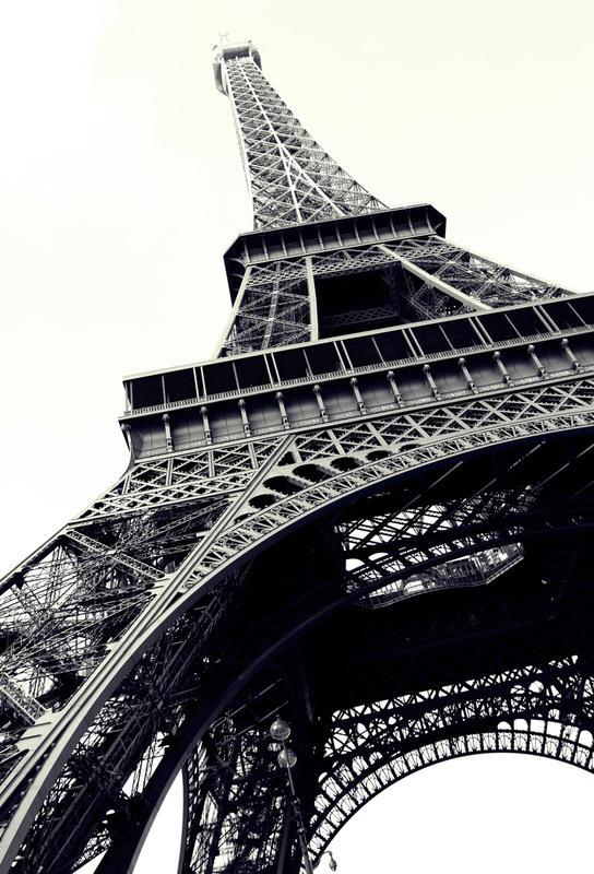 Tour Eiffel -Acrylglasbild