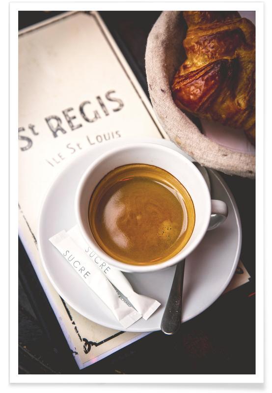 Café, Paris, Café affiche