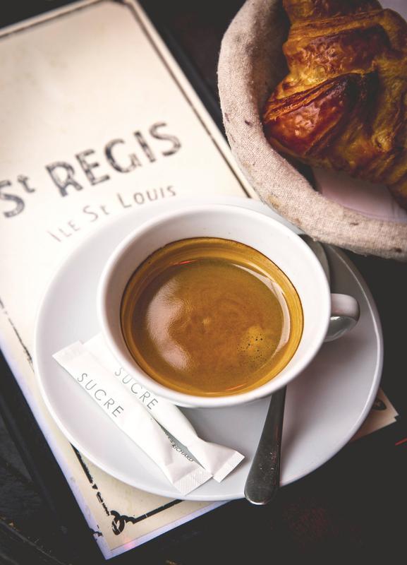 Café -Leinwandbild