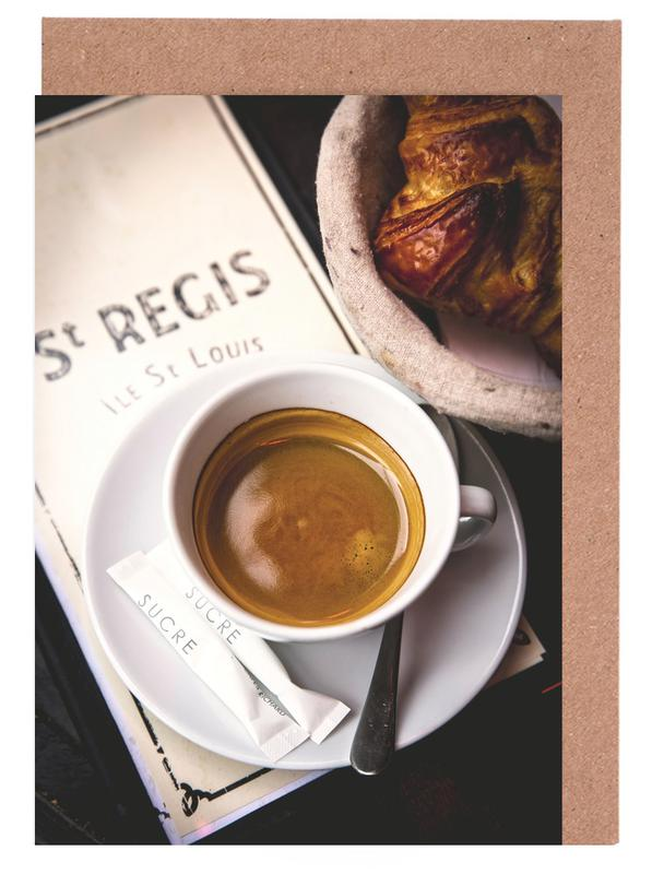 Café -Grußkarten-Set