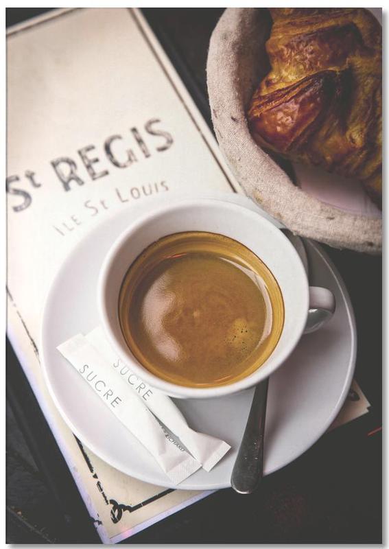Café -Notizblock