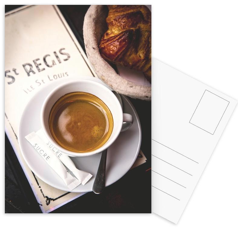Café -Postkartenset