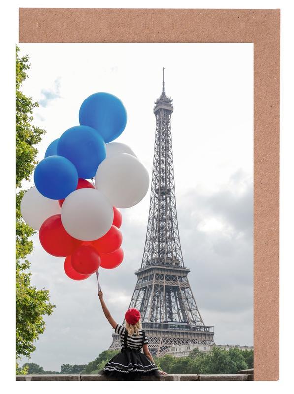 Vive La France -Grußkarten-Set