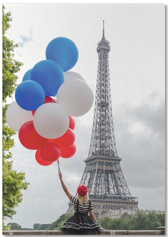 Vive La France -Notizblock