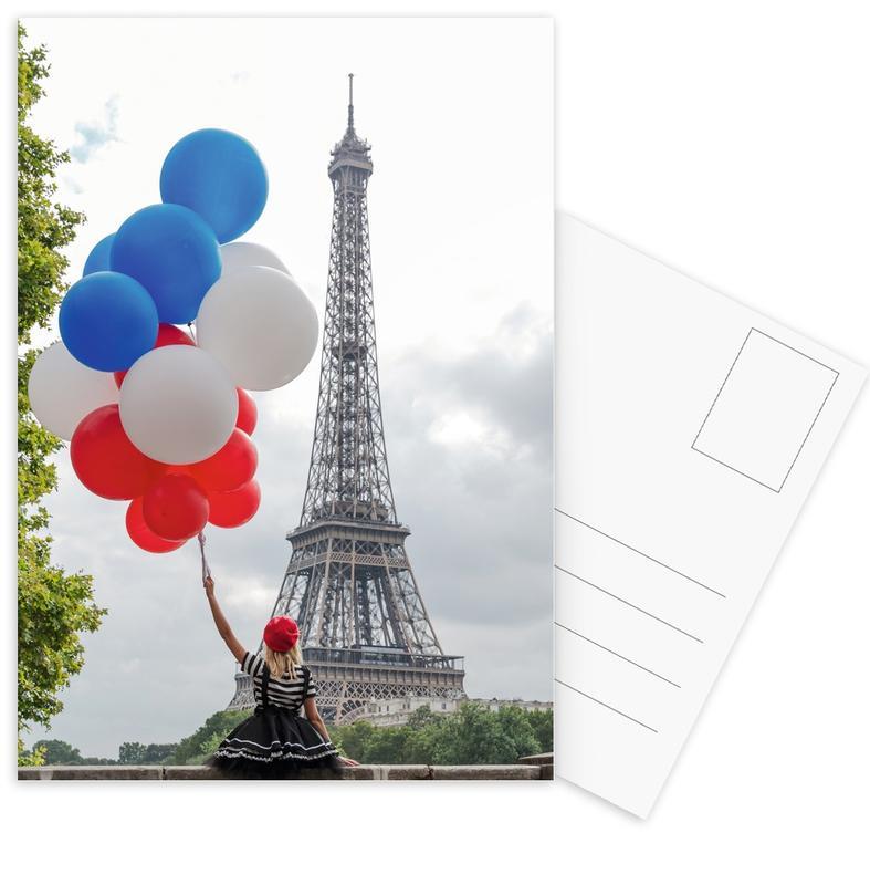 Vive La France -Postkartenset