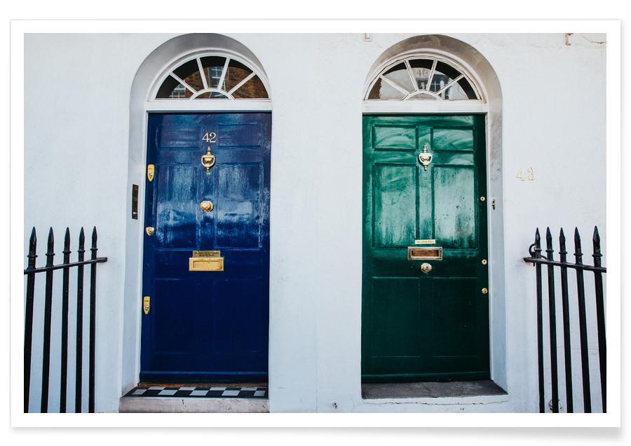 London Doors Poster