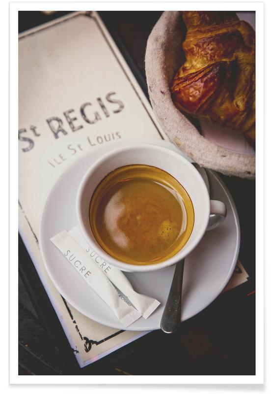 Kaffee, Caf' St Regis -Poster