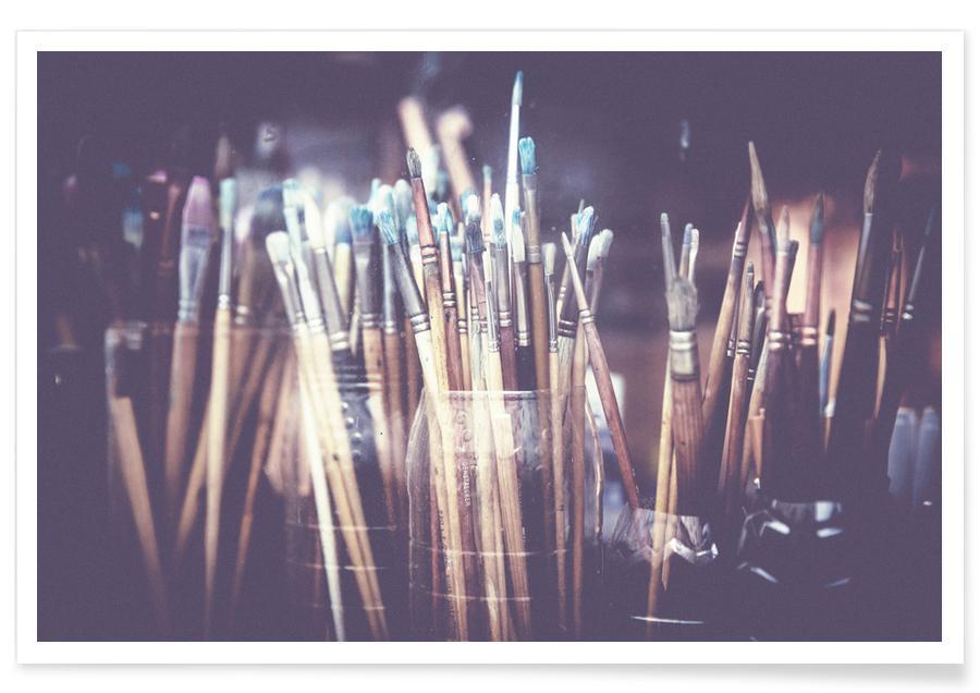 Dromerig, Art Brushes poster