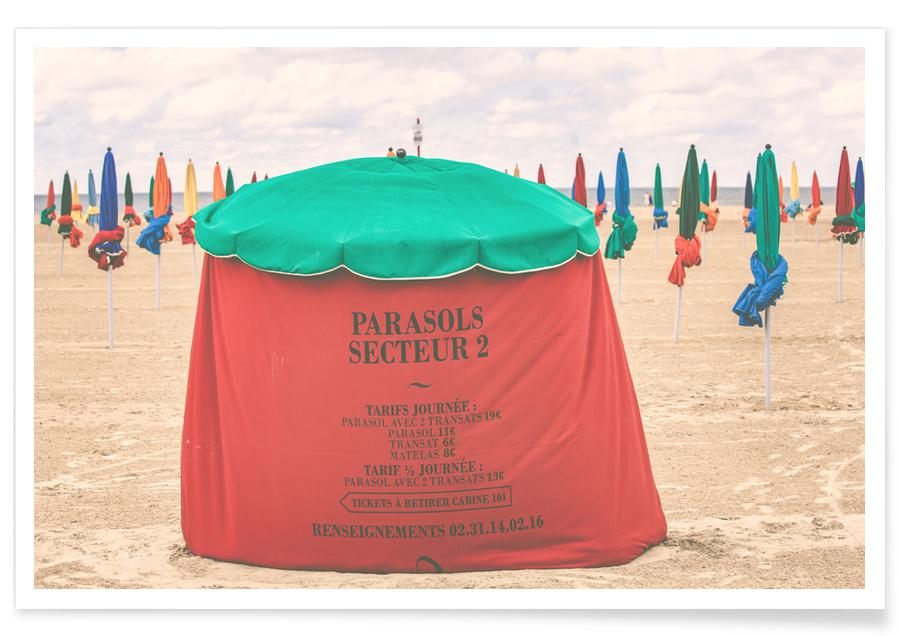 Plages, Deauville By The Beach affiche