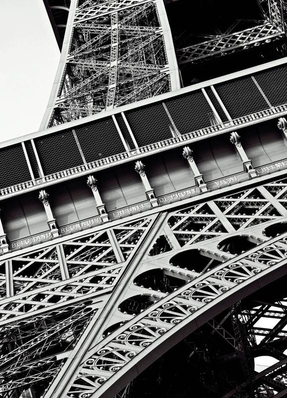 Gustave Eiffel canvas doek