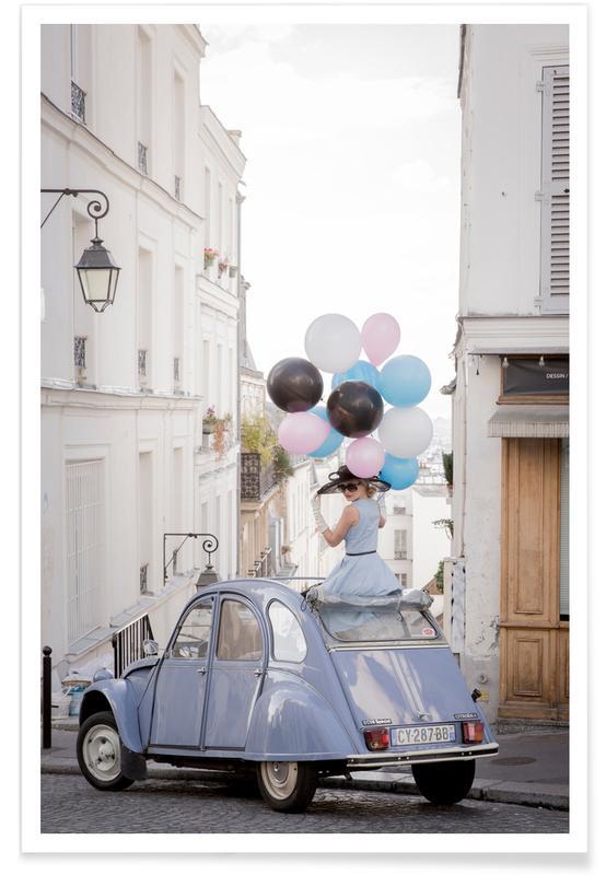 Cars, Bon Anniversaire Poster